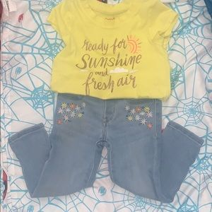 Toddler girls outfit size 2T